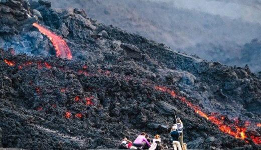 火山噴火による災害の種類は?火山灰と噴石、溶岩流と火砕流の違いは?