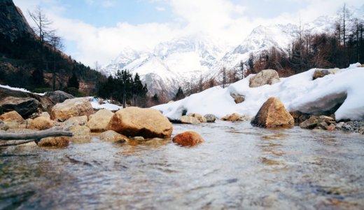 融雪期とは?雪解け時期の防災対策は?出水期や融雪出水期との違いは?